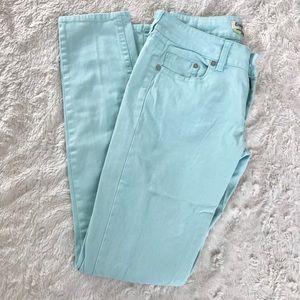 Indigo Rein Mint Green skinny pants